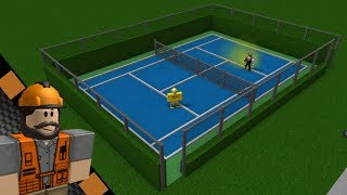 Roblox | Welcome to Bloxburg Tennis Court Tutorial
