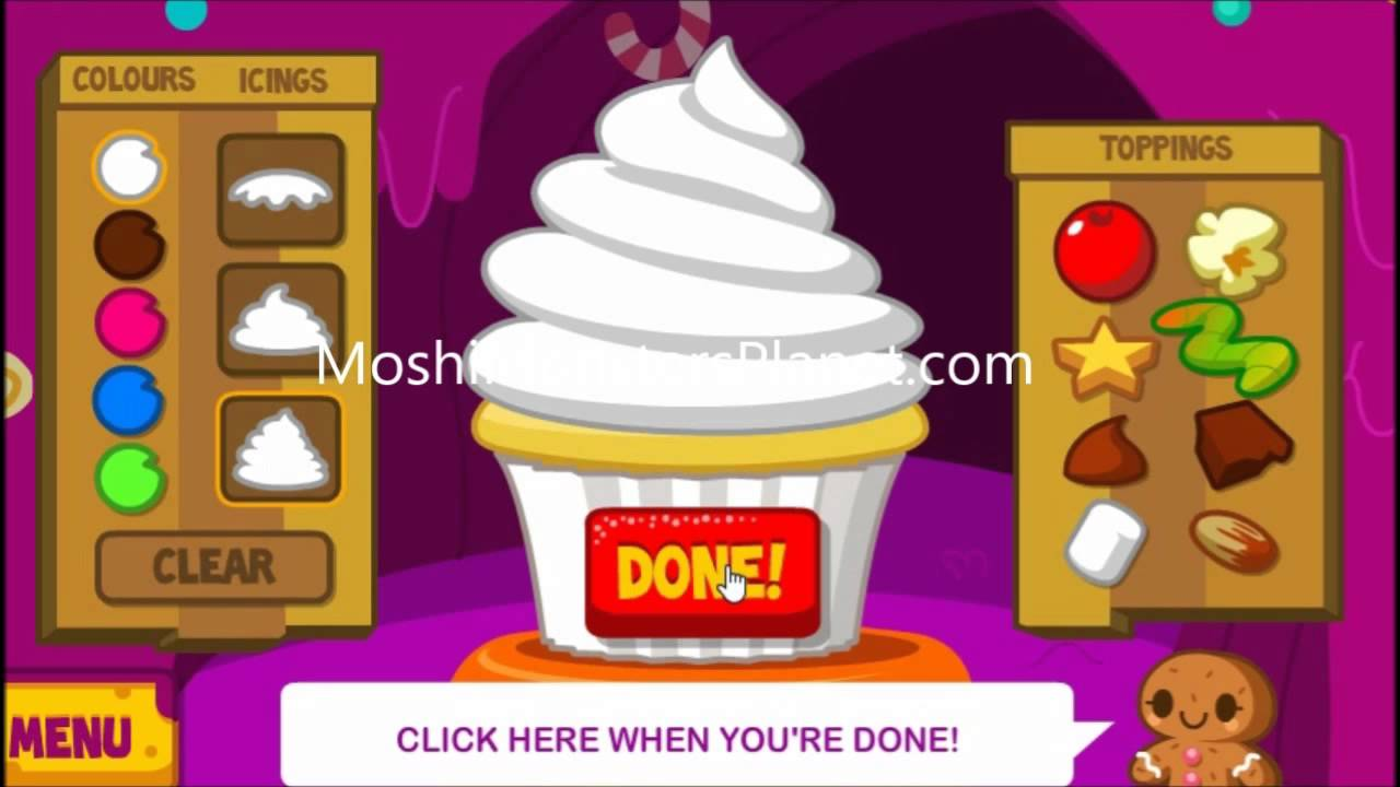 Moshi Monsters Cupcake Game All Moshlings Cheats