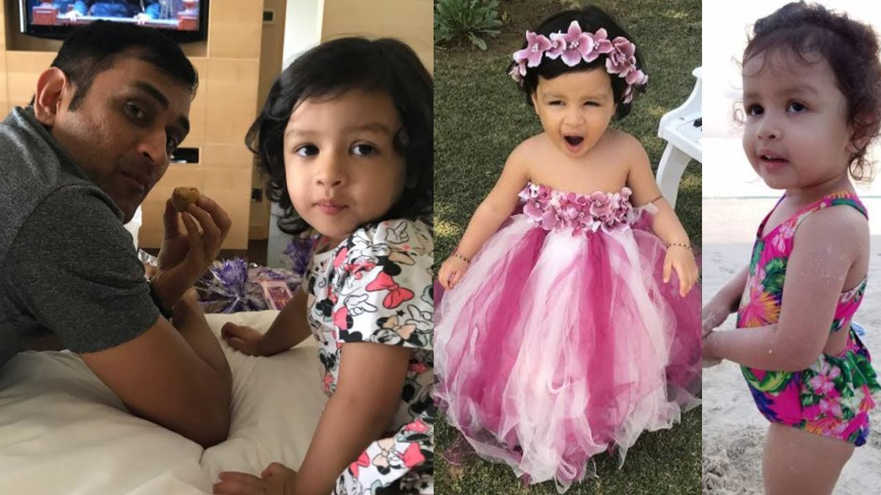 Image result for dhoni daughter