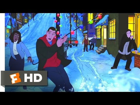 Eight Crazy Nights (1/10) Movie CLIP - Davey's Song (2002) HD