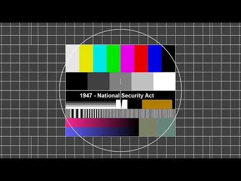 1947 - National Security Act - Gründung der CIA - Ein Radiob