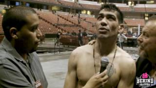 DAVID PERALTA AFTER GUERRERO WIN: I WAS A SAD TAXI DRIVER, NOW I'M A HAPPY BOXER!