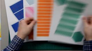 oblique quadrangular prism DIY, Видеоинструкция: как сделать наклонную четырехугольную призму