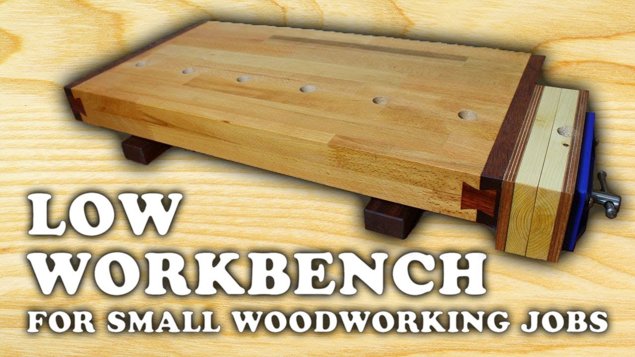 Building A Low Woodworking Bench 1 4 Youtube