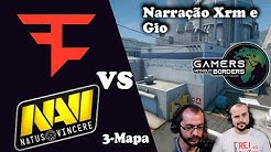 FAZE  VS NAVI  GAMERS WITHOUT  BORDERS MD3 TERCEIRO MAPA NUKE (CAMPEONATO BENEFICENTE )