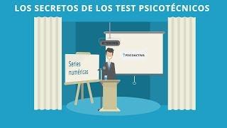 Los secretos de los Test Psicotécnicos: Series numéricas