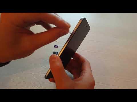 Как вставить СИМ карту в телефон Xiaomi (Сяоми)?