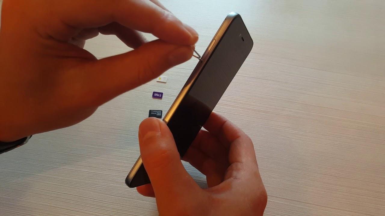 Как вставить СИМ карту в телефон Xiaomi (Сяоми)? - YouTube