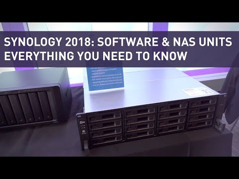 Synology 2018: NAS Hardware, Software, We Cover Everything