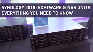 Synology 2019: NAS Units, Mesh Routers, Software, Etc  | Full Event