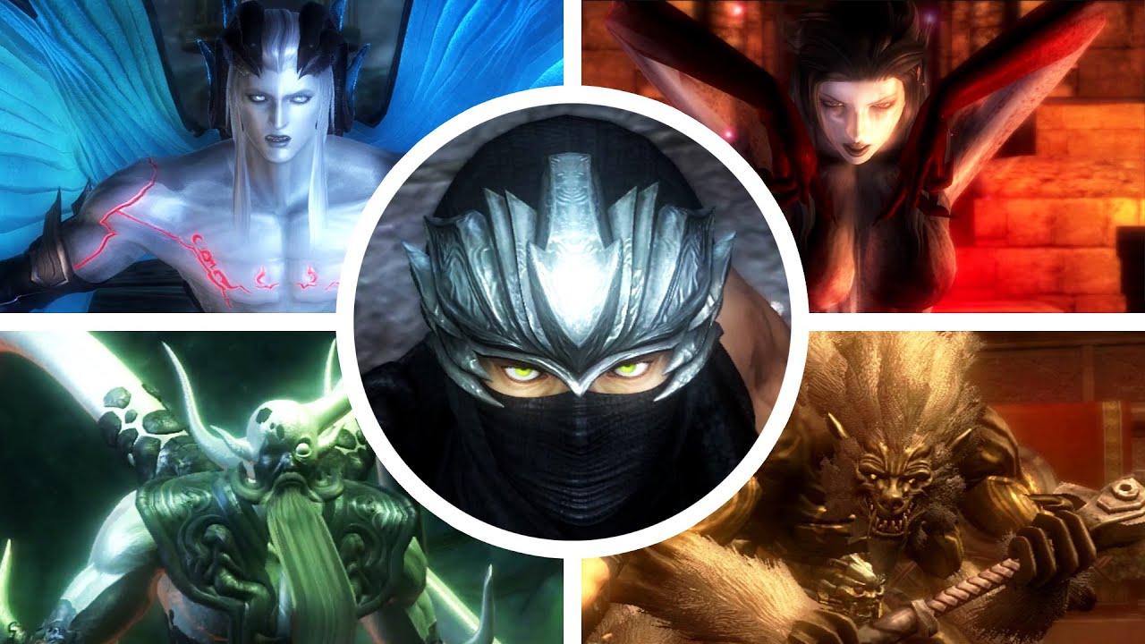 Ninja Gaiden Sigma 2 All Bosses 1080p60 Youtube