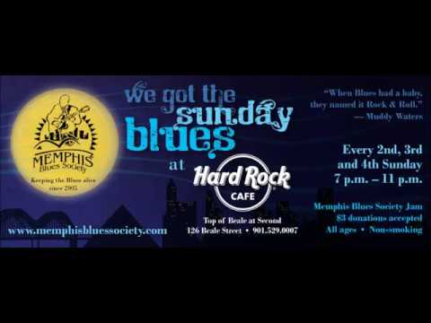 MEMPHIS BLUES SOCIETY JAM 12/12/2016 Live @ Hard Rock Cafe