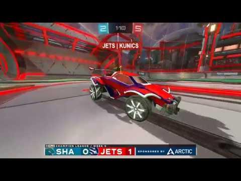 Sharks vs Jets Champion League Week 6