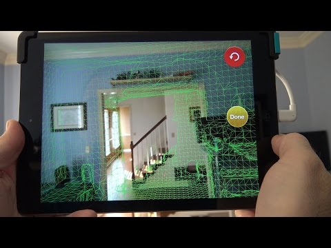 Structure Sensor 3D Scanner Unboxing and Augmented Reality Tests