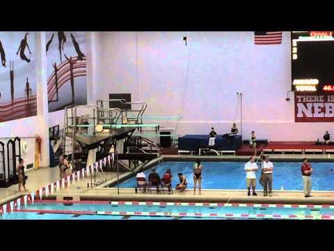 Day 72   NCAA women's swimming at U of Nebraska