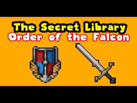 Tibia The Secret Library Order of the Falcon (4/6)