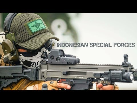Pasukan khusus Indonesia - Indonesian Special Forces HD