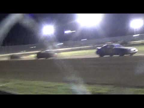 Consey Mini Stock Race at Mercer Raceway  park