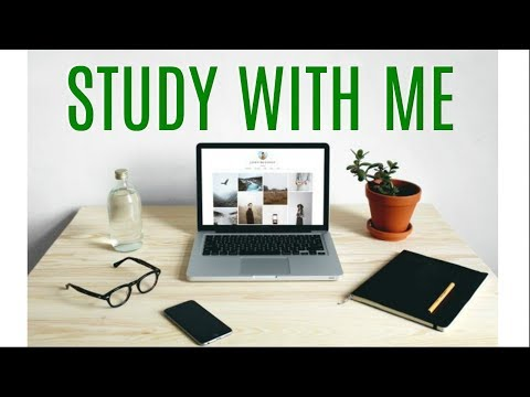 Study With Me - Study Live Stream #176 (2 HOURS) 50/10