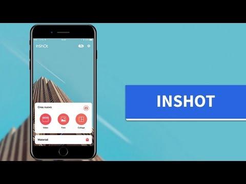 InShot: un comodo editor per video e foto!