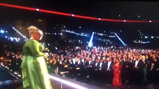 Adele wins album of the year 2017 Grammys