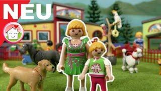 Playmobil Tierhotel - Unboxing mit Familie Hauser - Filme mit Spielzeug