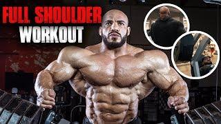 BIG RAMY FULL SHOULDER WORKOUT | 4 MUST DO EXERCISES
