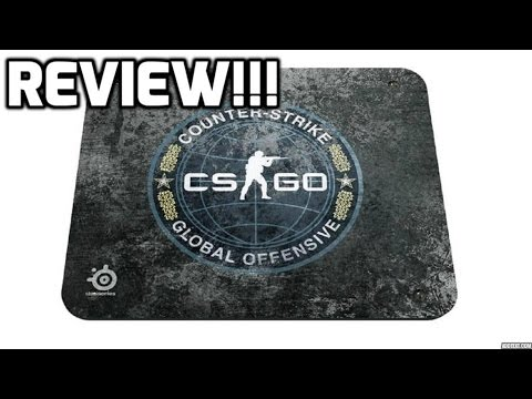 Steelseries qck gaming mouse pad cs go edition review for Cs go mouse