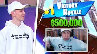 $500,000 Fortnite Secret Skirmish Highlights Gameplay (SOLO) - ft. 72hrs, Tfue, POACH,  Bizzle..