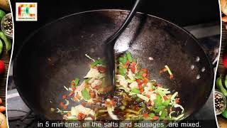 chicken veg Fried Rice with Shashlik | Quick Time Recipes | Chinese Food