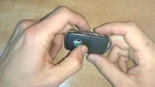 как заменить батарейку в ключе от автомобиля