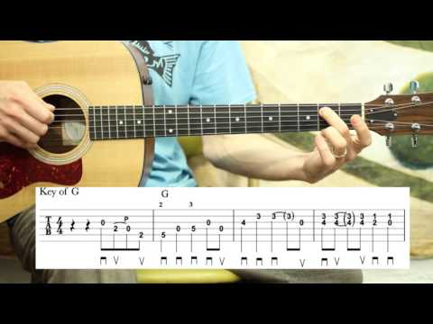 Wabash Cannonball - Guitar Lesson