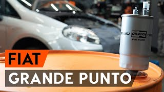Údržba Fiat Punto 199 - video tutoriál