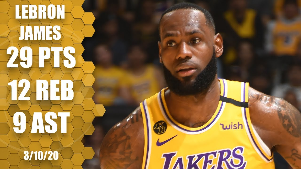 LeBron gets a near triple-double in Lakers vs. Nets thriller | 2019-20 NBA Highlights