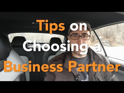 Tips on Choosing Business Partners