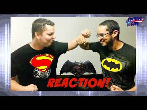 Batman v Superman! Reacción al Trailer Final!