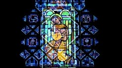 les vitraux de l'église St Chrysole à Comines France