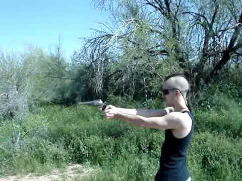 Justin tries out the .475 Linebaugh