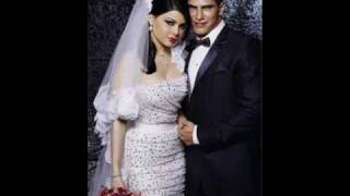 haifa wehbe wedding exclusive picture with ragab song