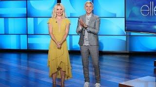 Kristen Bell Co-Hosts with Ellen!