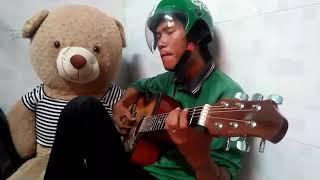 Tết Nay Con Về (Guitar Cover) - Khi Grabbike nhớ nhà