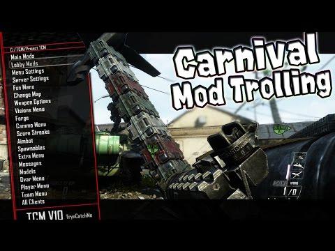 "Black Ops 2 Mod Trolling!! ""Carnival Or COD?!!?"""