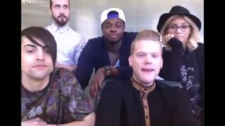 Pentatonix/PTX Spreecast May 21, 2015