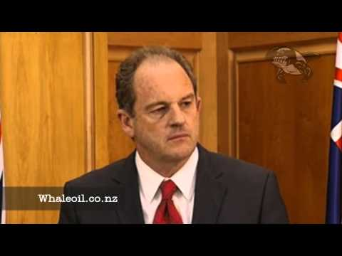 David Shearer - Presser Part 1