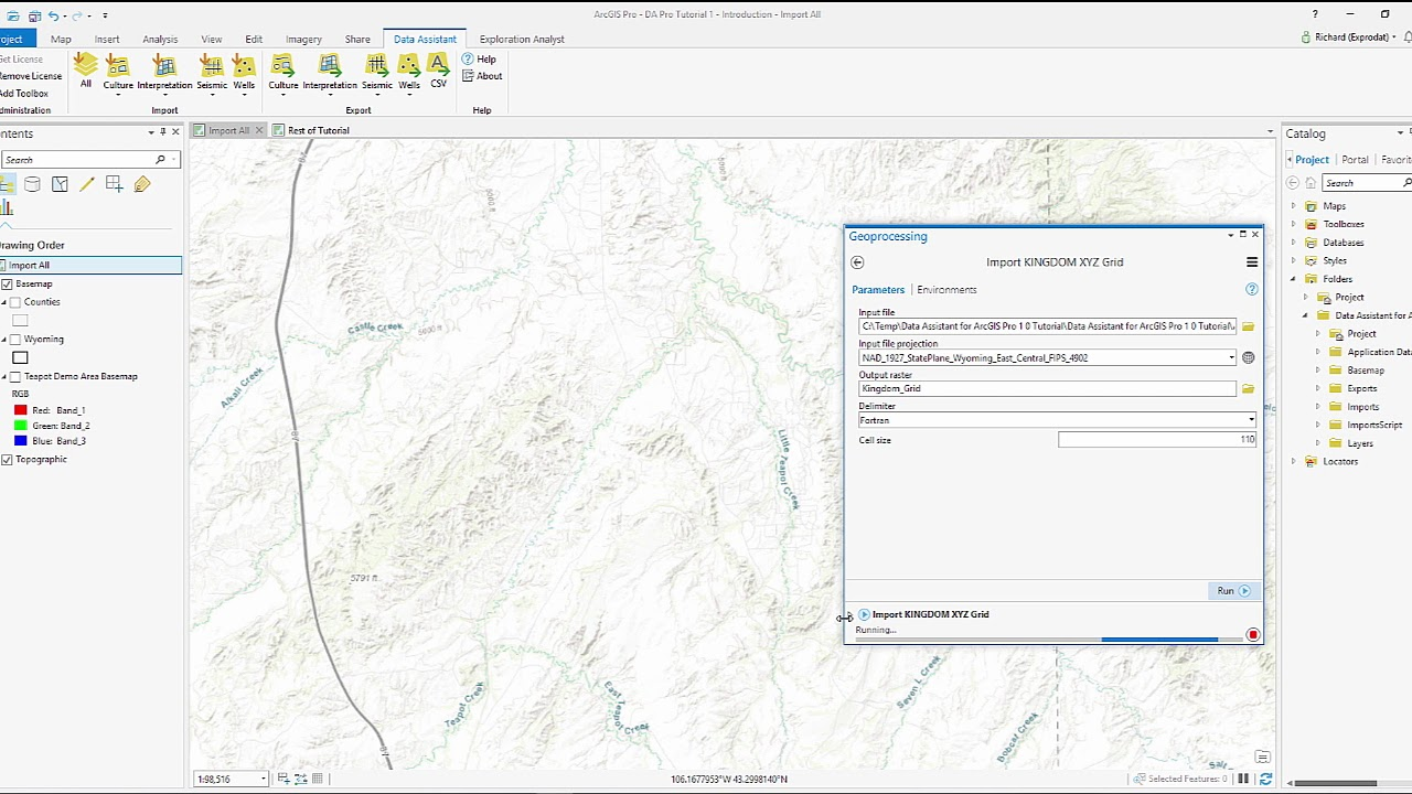 Xyz File Arcgis