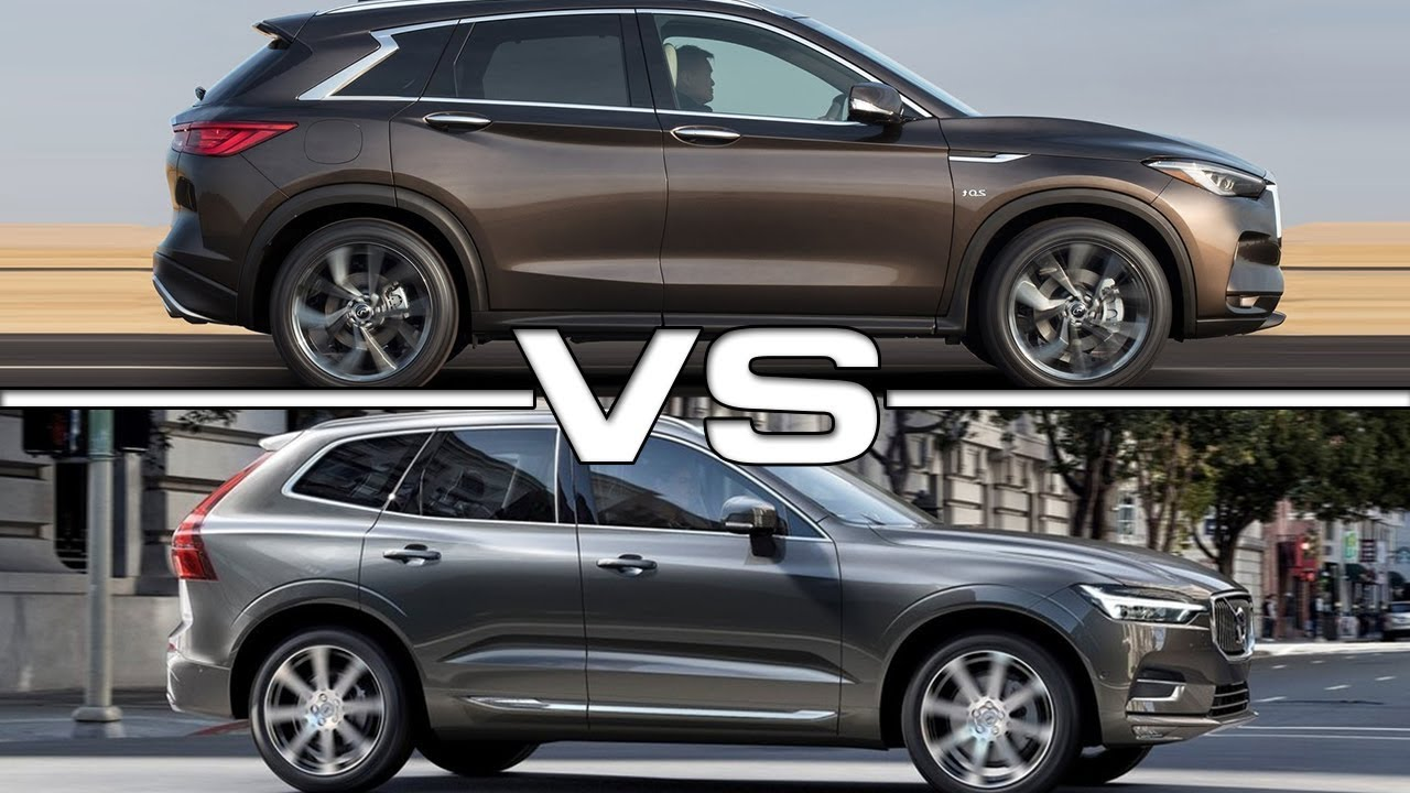 volvo xc60 vs infiniti qx50 british automotive. Black Bedroom Furniture Sets. Home Design Ideas