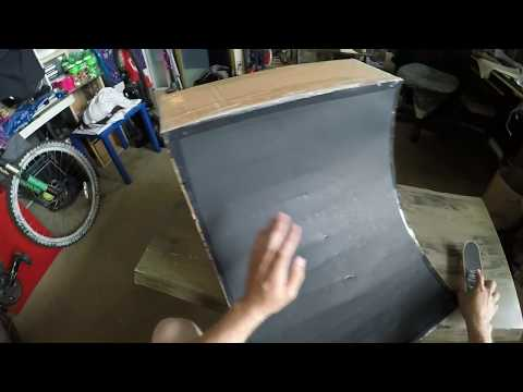DIY HandBoard Quarter Pipe Tutorial
