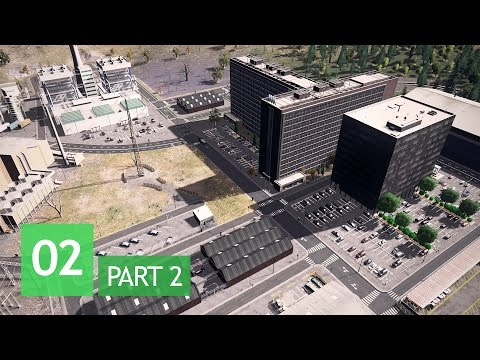 Cities Skylines: Wayside Valley - Ep.2/Pt.2: Finishing The Power Plant