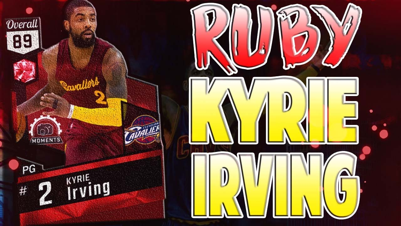 Kyrie Irving Dope Pics: RUBY KYRIE IRVING! DOPE RUBY PULL! NBA 2K17 MyTEAM PACK