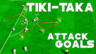 PES 2016 PC - Tiki-Taka / Pass / Attack / Goals [HD]